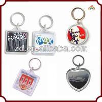 OEM plastic photo keychain photo viewer