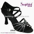 Alta calidad de cristal chino de la sandalia de baile zapatos