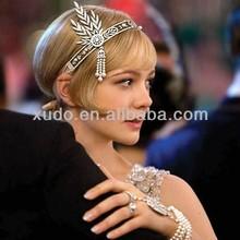 new coming star style bridal crystal pearl crown tiara hair band wholesale