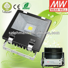 High power and Energ Saving 100w LED Flood Light/Meanwell Driver