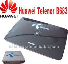 Unlock Huawei B683 192.168.1.1 3g wireless router 3g gsm gateway