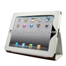 New creative handbag leather case for iPad 3