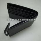 Designer special men leather wallet pattern oem