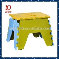 Plastic handle toilet stool