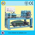 Automático acoplamiento de alambre prensado máquinas de tejer / tira cortada de alambre de la encrespadura de la máquina