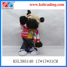 2014 promotion dancing bear party doll with breakdance