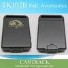 Hidden portable tracking device mini tracker gps for kids pet elder tk102b