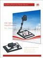 Hengsheng portátil digital de alta resolución 3.2 mega audio visual retroproyectores, visualizador digital, documento de la cámara