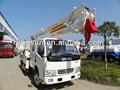 Dongfeng poda de árvores caminhão