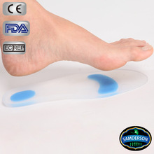 Silicone Orthotic Shoe Inserts and Gel Insoles