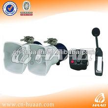 40 W motorcycle siren horn with 3 tones