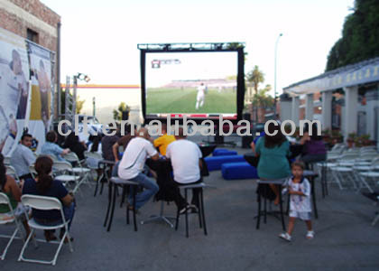 small pixel pitch small video screen outdoor