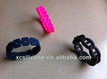 silicone bracelet,silicone hand band
