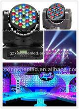 Stage LED moving head light, waterproof RGB color move head light, DJ disco move head light