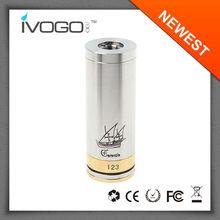 2014 newest e cig e cig with brushed body 18350 battery nemesis most popular wholesale caravela mod buying online in china