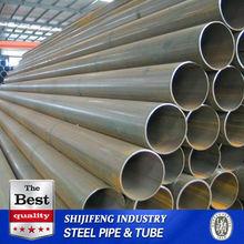 ASTM A53 Round pipe carbon/mild/black steel