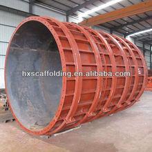 tunnel circular column formwork shuttering beam
