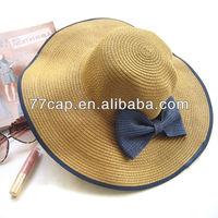 Popular Ladies Sun Hat With Floppy Wide Brim