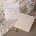 الموردين من اللؤلؤ الفراشة ورقة بطاقة الزفاف بطاقة دعوة الزفاف