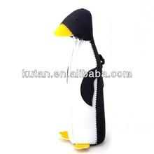 Penguin bottle cover with buckle soft cover case for vacuum bottle Zipper Stubby Holder