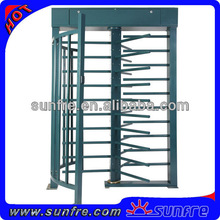 RFID access control security full height turnstile gate