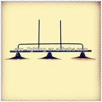 Iron Industrial Loft Pendant Lighting-3cords