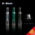 La acción al por mayor original egowell mini e- cerveza clara egowell atomizador de plástico pyrex materiales e- cerveza ajustable del flujo de aire del tanque