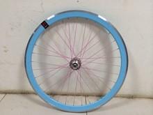 colorful bicycle wheel/ fixed gear bike wheel/new design fixed gear bike wheel on sale