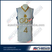 V-neck team warming up gear cooldry basketball tops