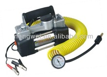 12v heavy duty auto air compressor with cigartte light and clip