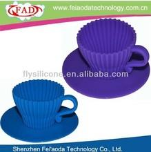 Shenzhen Feiaoda Online Supply-- house shape silicone cake mould
