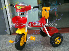 PingHu LingLi used tricycle for sale, children metal frame tricycle,kids tricycle and children bicycle