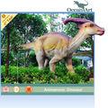Em seu museu, você pode construir a ilha dos dinossauros, as pessoas gostam muito deles