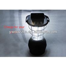 hand cranking multi-function solar led lantern solar power camping lantern
