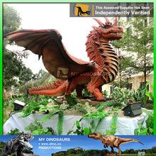 My-dino life like gaint fiberglass dinosaur sculpture