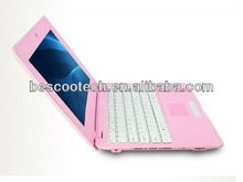 mini laptop 10inch netbook VIA8850 Android4.0 notebook pc CORTEX A9 1.5Ghz ram 512mb flash 4GB laptop
