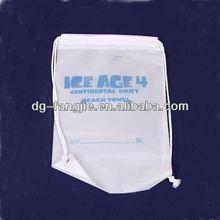 drawstring bag raschel knitting bag