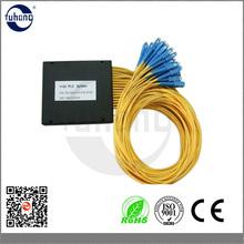Cassette Packaged Optical Fiber 1*32 PLC optical Splitter