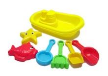 creative play set ABS summer beach sand molds kids toys with EN71