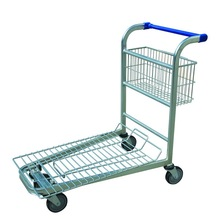 grocery store heavy duty trolley wheels LH-7 with size 1070*525*935MM