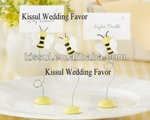 """Wedding Place card holder favor Sweet as Can Bee!"""" Baby Bee Place Card Holder wedding supplier"""