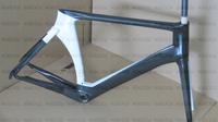 Hot selling! road carbon fiber frame+fork+aero seatpost+clamp+headset 48/51/54/56/58cm