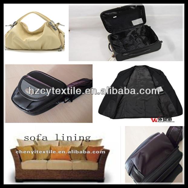 High quality lining fabric bag sofa for outdoor