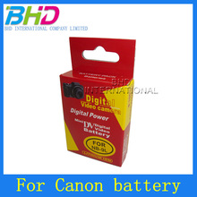 Replacement li-ion polymer battery 3.7v 900mah for Canon NB-9L