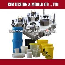 Different Volumes of Plastic Paint Bucket Mold /molde de balde