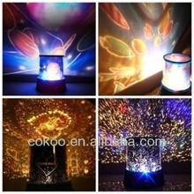 Children bedroom Sky Star Master Night Light Projector Lamp Time + music