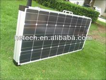 200w folding solar panel/portable solar kit for sale