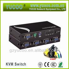 4-Port Kvm Push Button AUTO switch