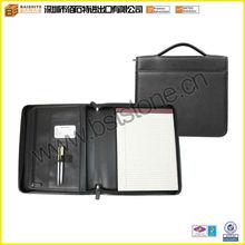 Personalized Leather Brief Padfolio, Executive Padfolio Bag