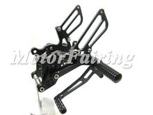 Foot Peg Rear Adjustable Motocycle Rearset Rear Set/Rearsets Footpegs Kit For Honda CBR600 F4 F4i 99-06 ilver Gold Black